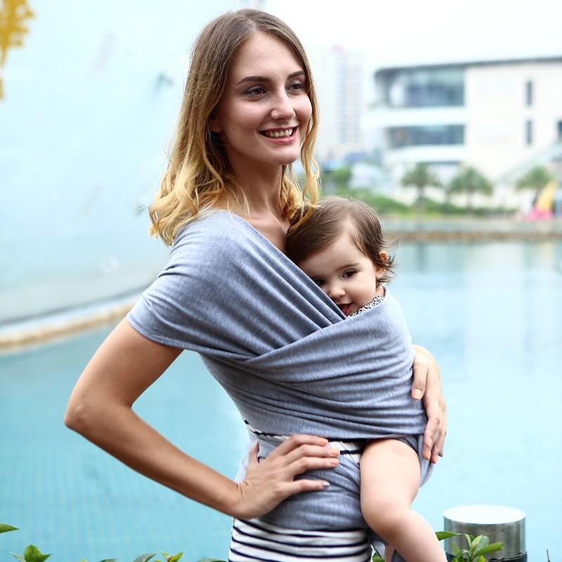 Easy Front Tie Baby Wrap Carrier