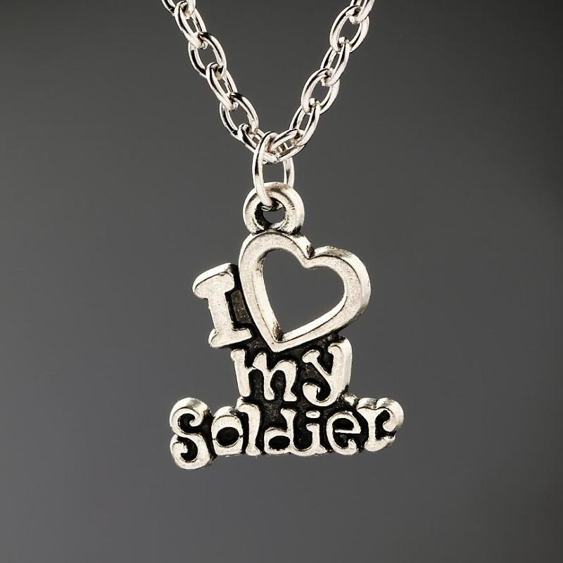 """""""I Love My Soldier"""" Limited Edition Necklace"""